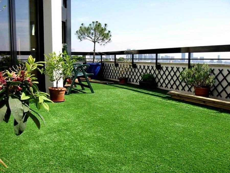 Cesped artificial terrazas y balcones