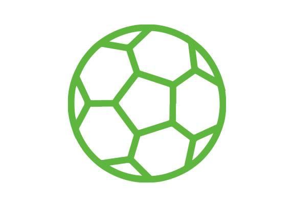 Cesped Artificial Futbol Icono