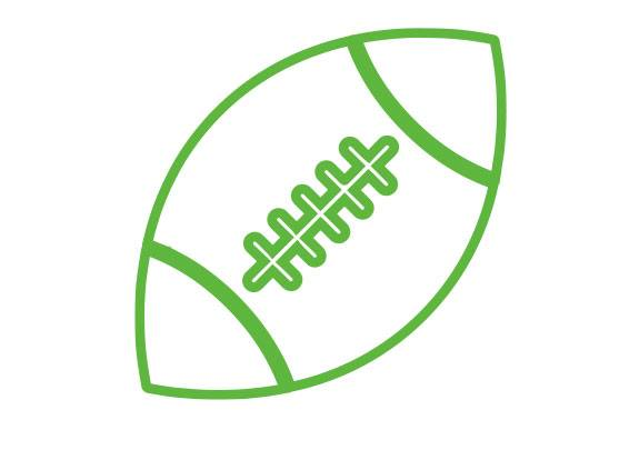 Cesped Artificial Rugby Icono